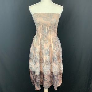 Anthropology Lapis 2 in 1 dress and maxi One size.